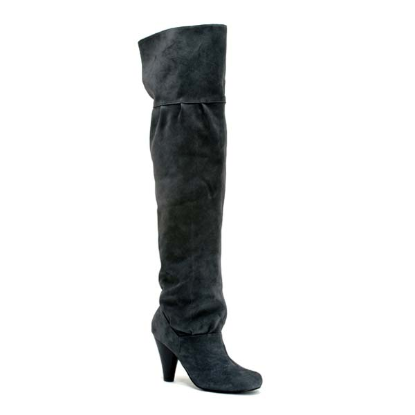 vamp over the knee boot 119