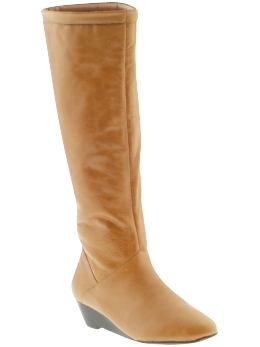 honey brown chic boots