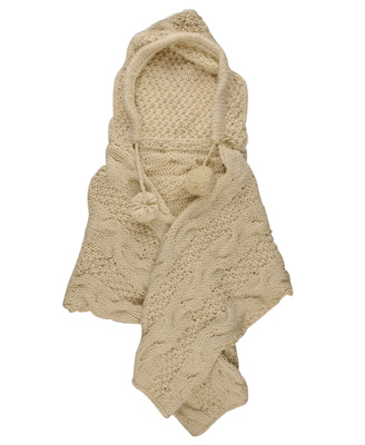 pom pom shawl