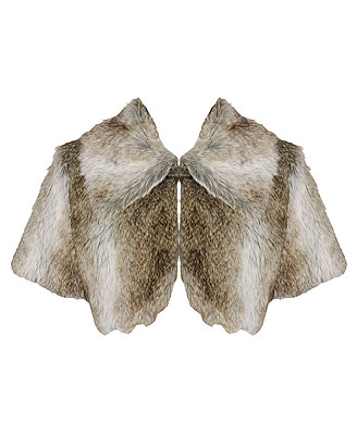 faux fur shrug 24.80