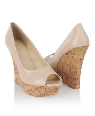 Rate This Nude Wedge Sandals Cute Cream
