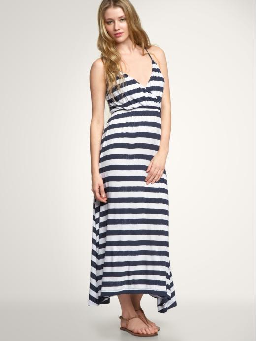 Gap Striped Maxi Dress