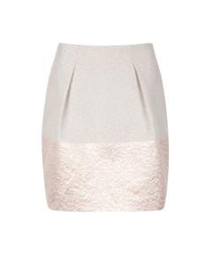 Falda structured tulip skirt