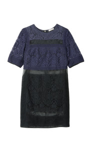 patch lace dress rebecca taylor 495