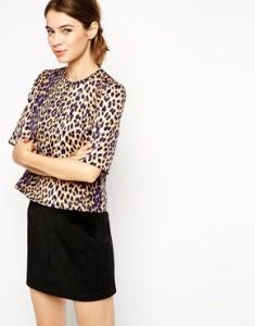 asos leopard t shirt
