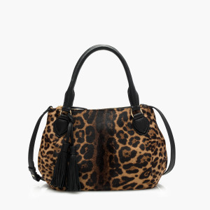 jcrew leopard bag