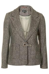 topshop tweed blazer